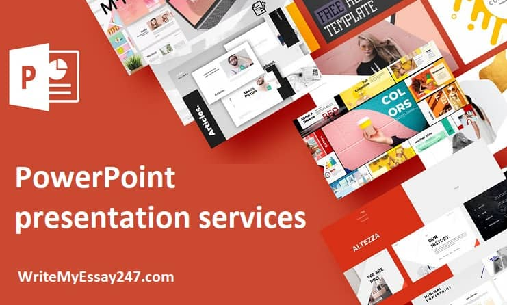 PowerPoint presentation services at writemyessay247.com