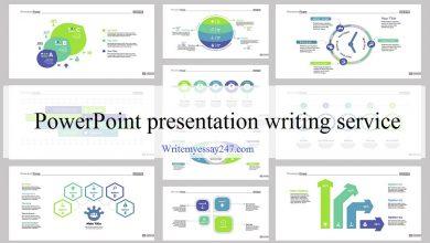 PowerPoint presentation writing service