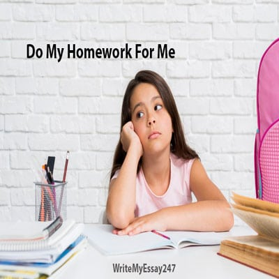 Make me do my homework