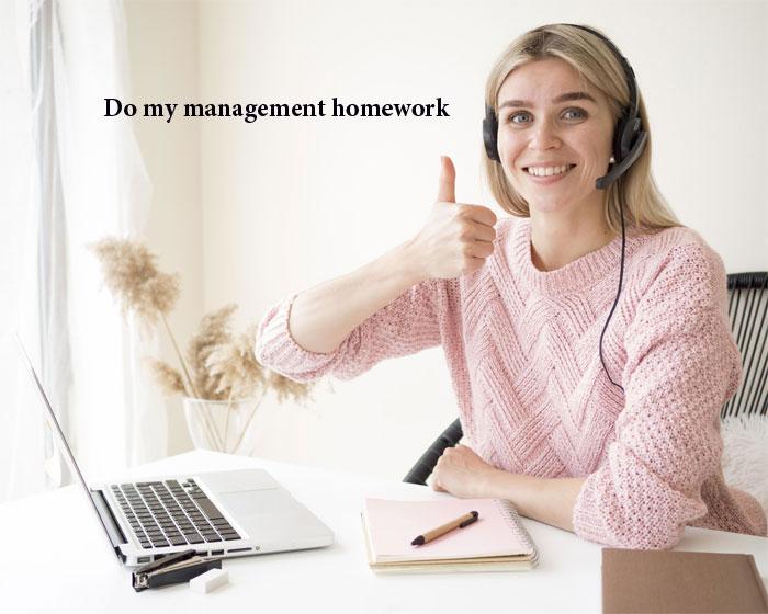 Do my management homework