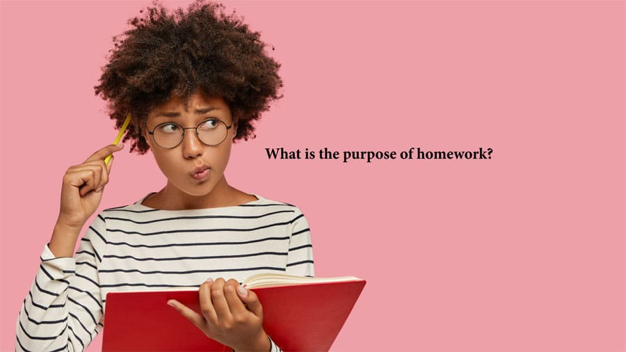 What is the purpose of homework?