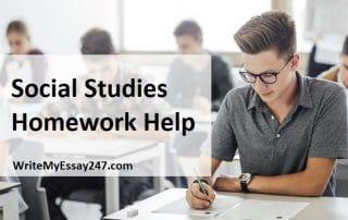 Best Social Studies Homework Help Service
