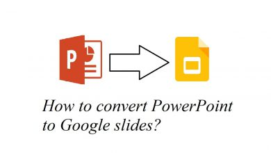 How to convert PowerPoint to google slides?
