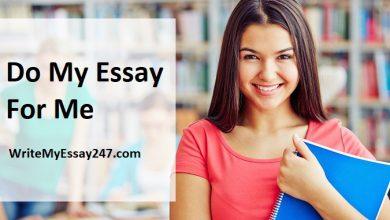 Do My Essay For Me - WriteMyEssay247.com