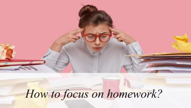 How to focus on homework