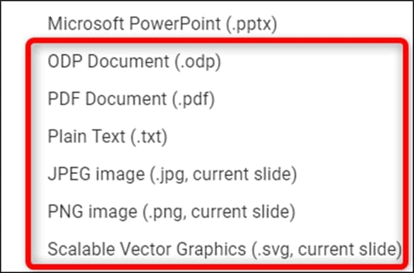 PowerPoint file format