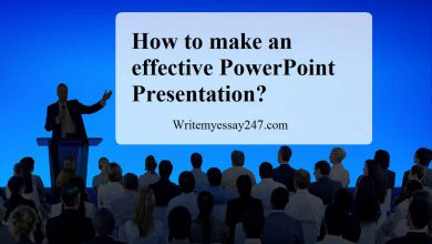 How to make an effective PowerPoint Presentation?