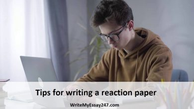 Tips for writing a reaction paper
