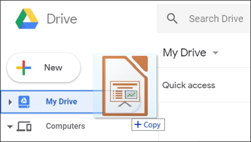 Import Microsoft PowerPoint files into Google Slides