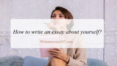 How to write an essay about yourself?