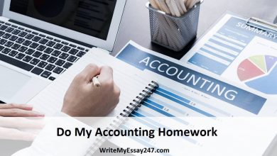 Do My Accounting Homework For Me