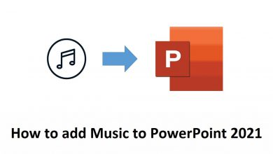 How to add music to PowerPoint 2021