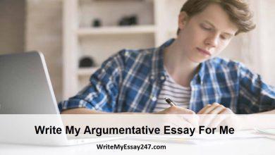 Write My Argumentative Essay - Best Argumentative Essay Writing Service