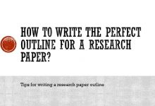 How to write the perfect outline for a research paper