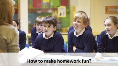 How to make homework fun