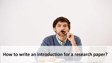 How to write an introduction for a research paper?
